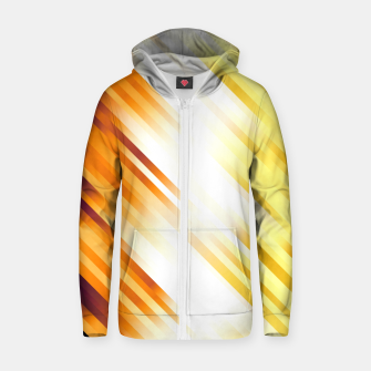 stripes wave pattern 7v1 ls Zip up hoodie thumbnail image