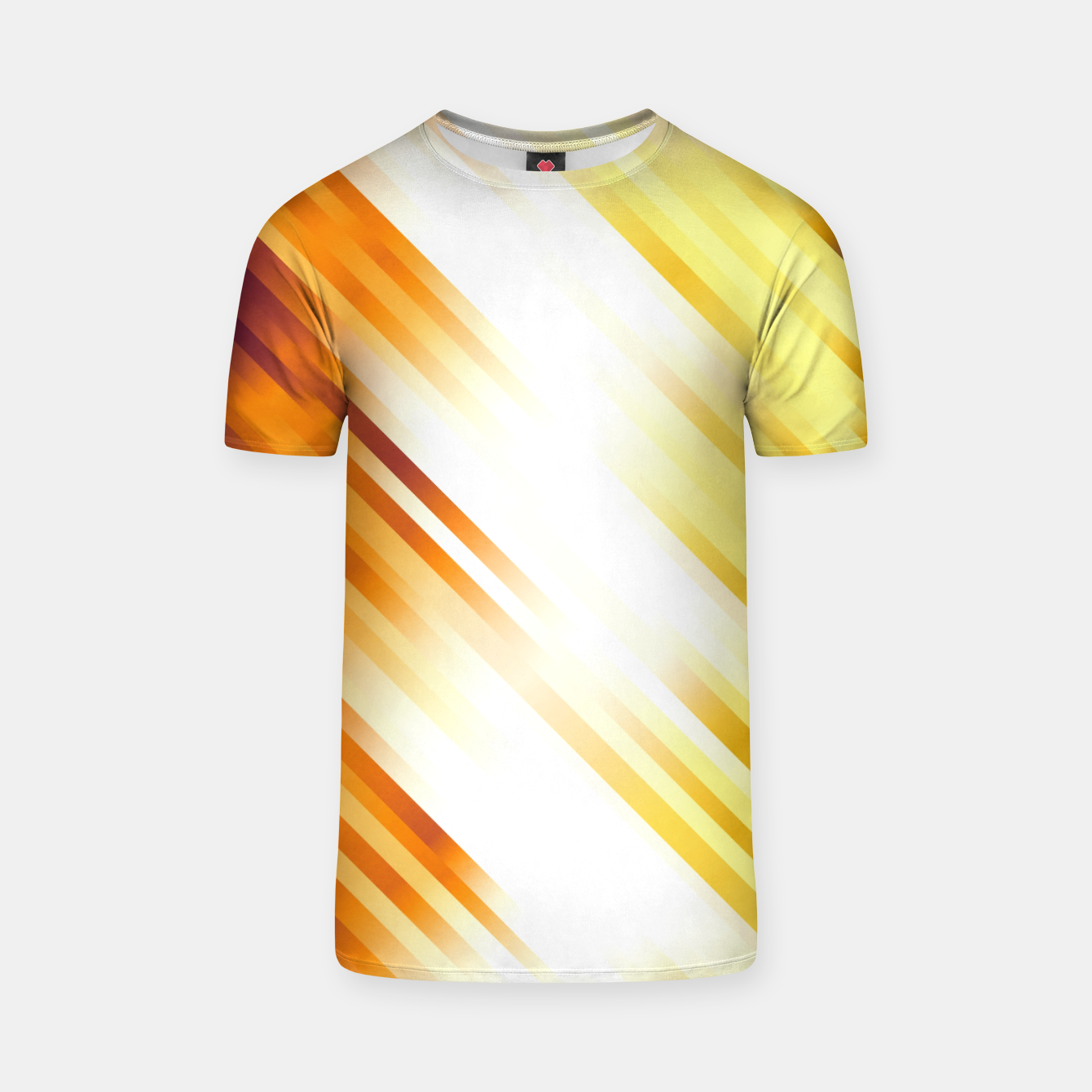Image of stripes wave pattern 7v1 ls T-shirt - Live Heroes