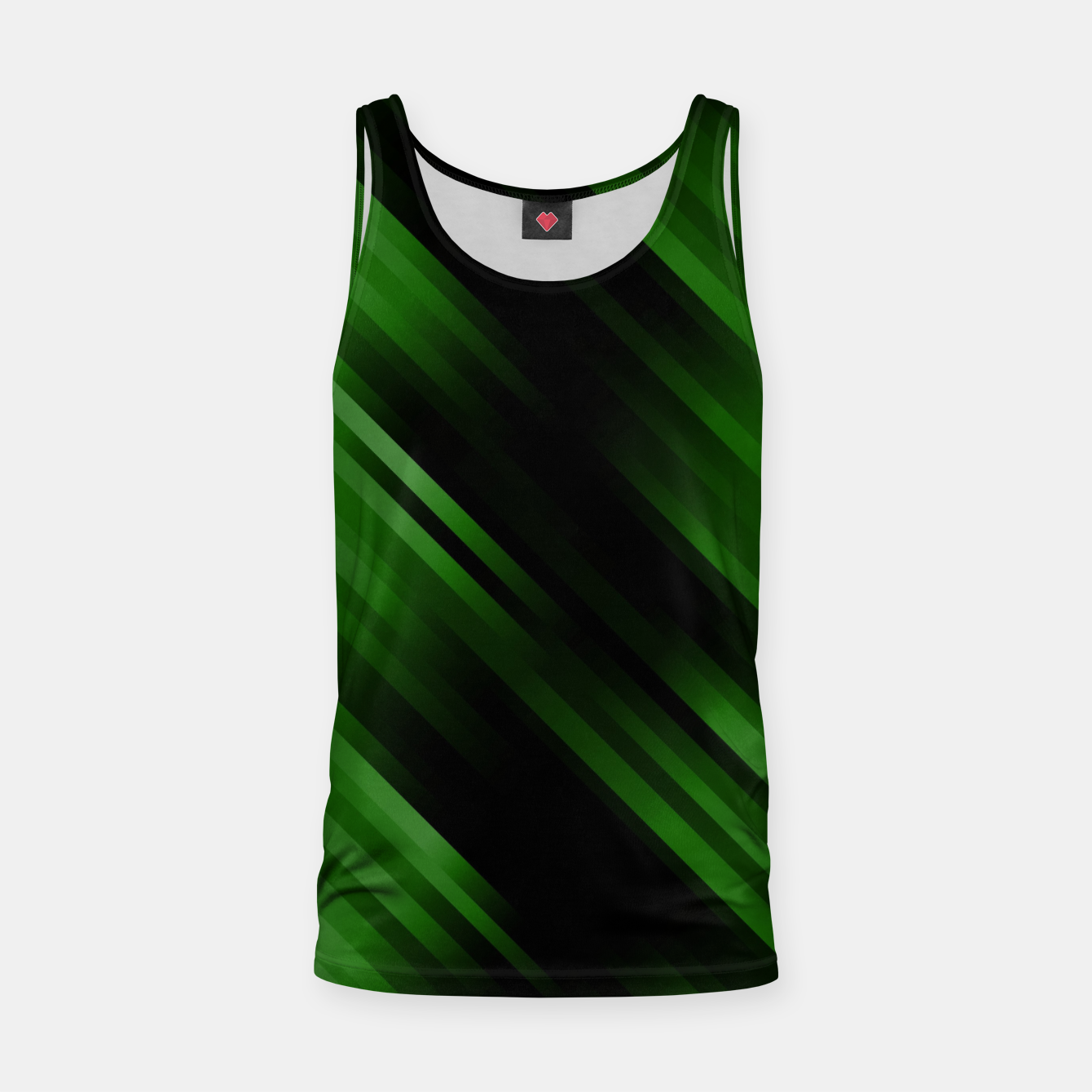 Image of stripes wave pattern 7v1 ppi Tank Top - Live Heroes