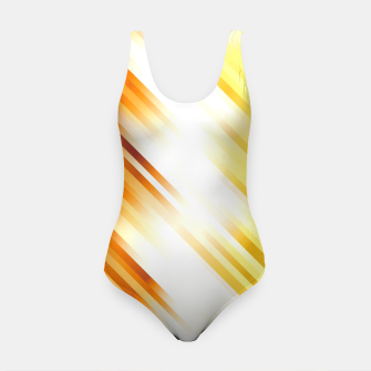 stripes wave pattern 7v1 ls Swimsuit thumbnail image