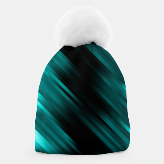 stripes wave pattern 7v1 dri Beanie thumbnail image
