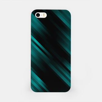 stripes wave pattern 7v1 dri iPhone Case thumbnail image