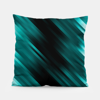 stripes wave pattern 7v1 dri Pillow thumbnail image