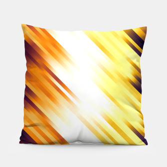 stripes wave pattern 7v1 ls Pillow thumbnail image