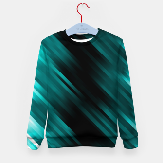 stripes wave pattern 7v1 dri Kid's sweater thumbnail image