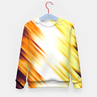 stripes wave pattern 7v1 ls Kid's sweater thumbnail image
