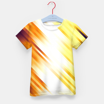 stripes wave pattern 7v1 ls Kid's t-shirt thumbnail image