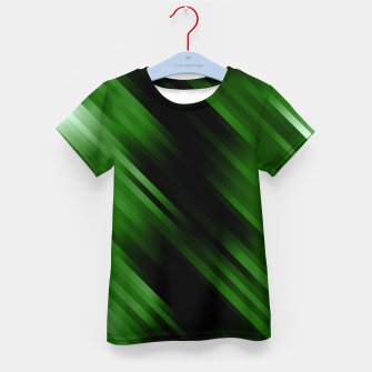 stripes wave pattern 7v1 ppi Kid's t-shirt thumbnail image