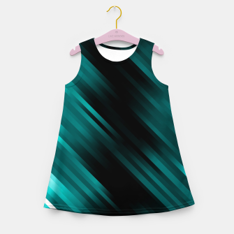 stripes wave pattern 7v1 dri Girl's summer dress thumbnail image