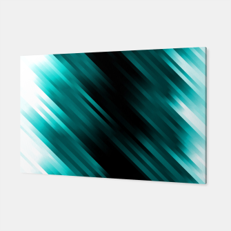 stripes wave pattern 7v1 dri Canvas thumbnail image