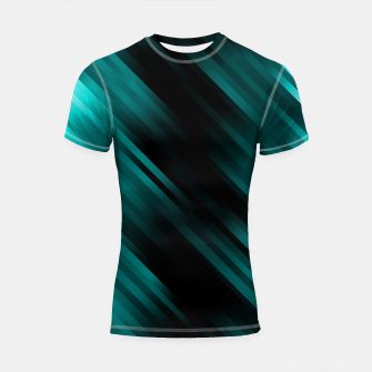 stripes wave pattern 7v1 dri Shortsleeve rashguard thumbnail image