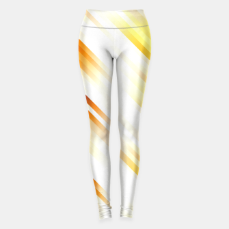 stripes wave pattern 7v1 ls Leggings thumbnail image
