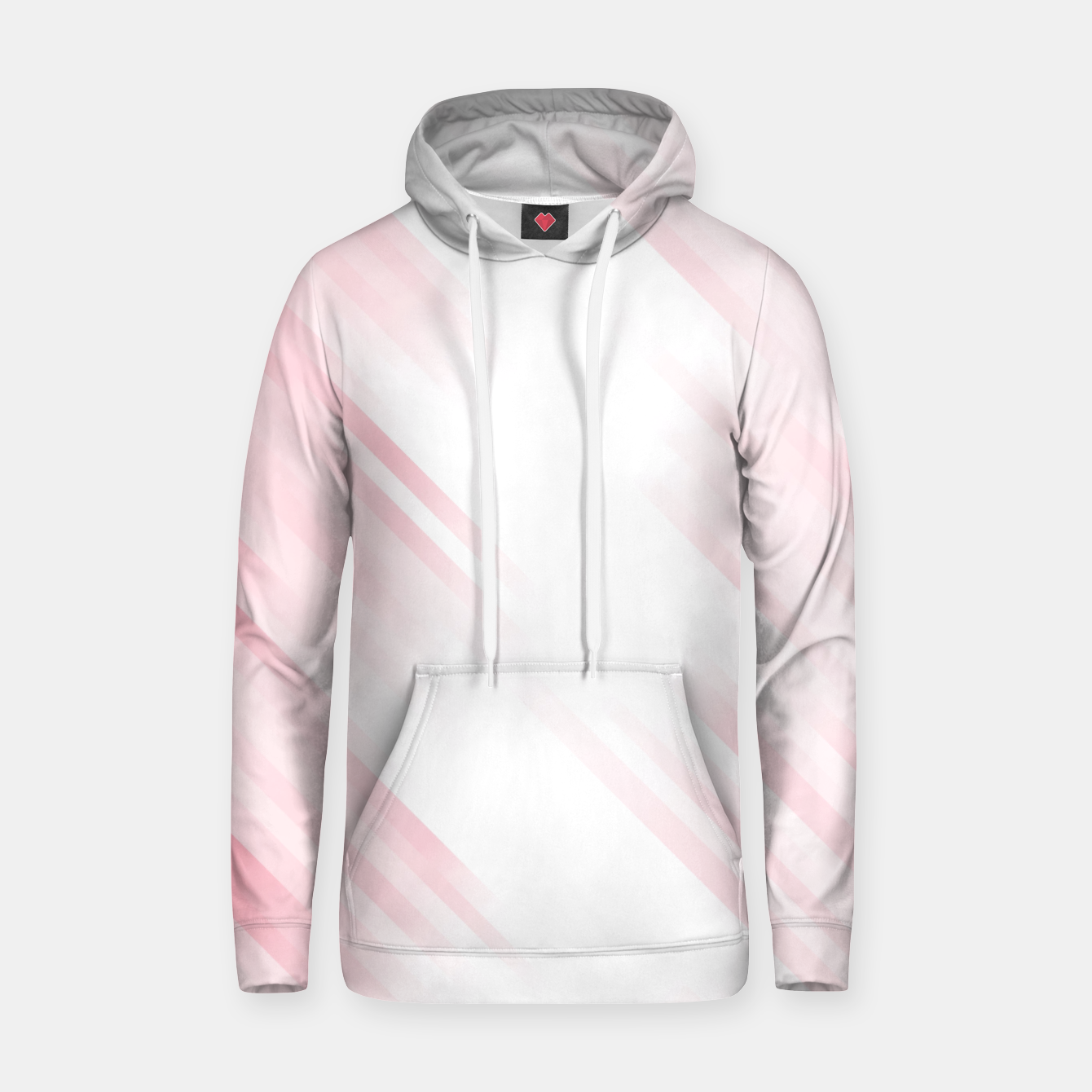 Image of stripes wave pattern 7v1 pw Hoodie - Live Heroes
