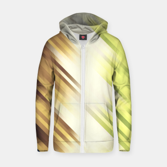 stripes wave pattern 7v1 fn Zip up hoodie thumbnail image