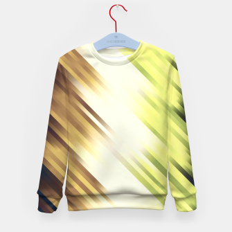 stripes wave pattern 7v1 fn Kid's sweater thumbnail image
