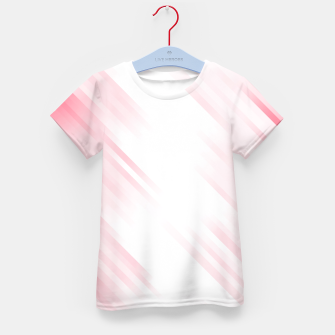 stripes wave pattern 7v1 pw Kid's t-shirt thumbnail image
