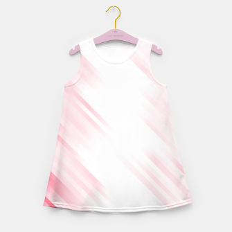 stripes wave pattern 7v1 pw Girl's summer dress thumbnail image