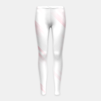 stripes wave pattern 7v1 pw Girl's leggings thumbnail image