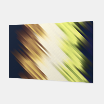 stripes wave pattern 7v1 fn Canvas thumbnail image