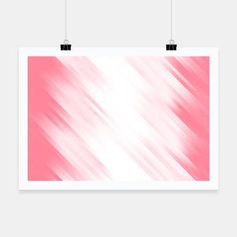 stripes wave pattern 7v1 pw Poster thumbnail image