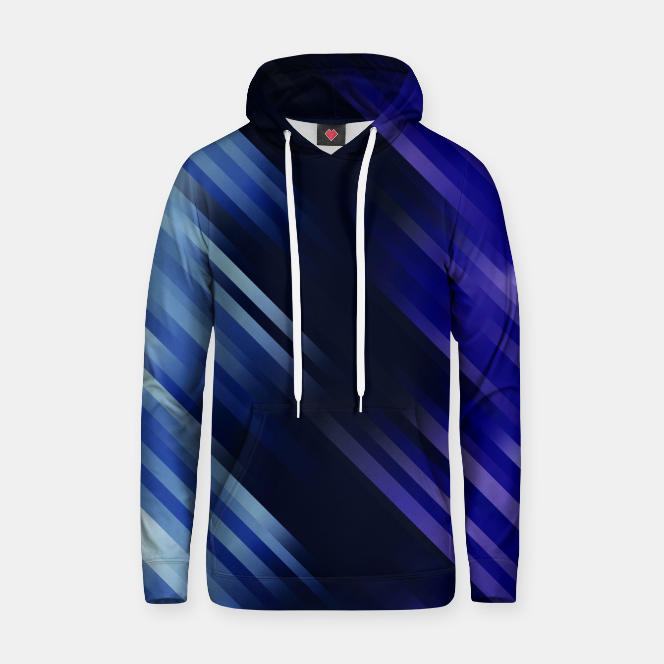 Image of stripes wave pattern 7v1 fni Hoodie - Live Heroes