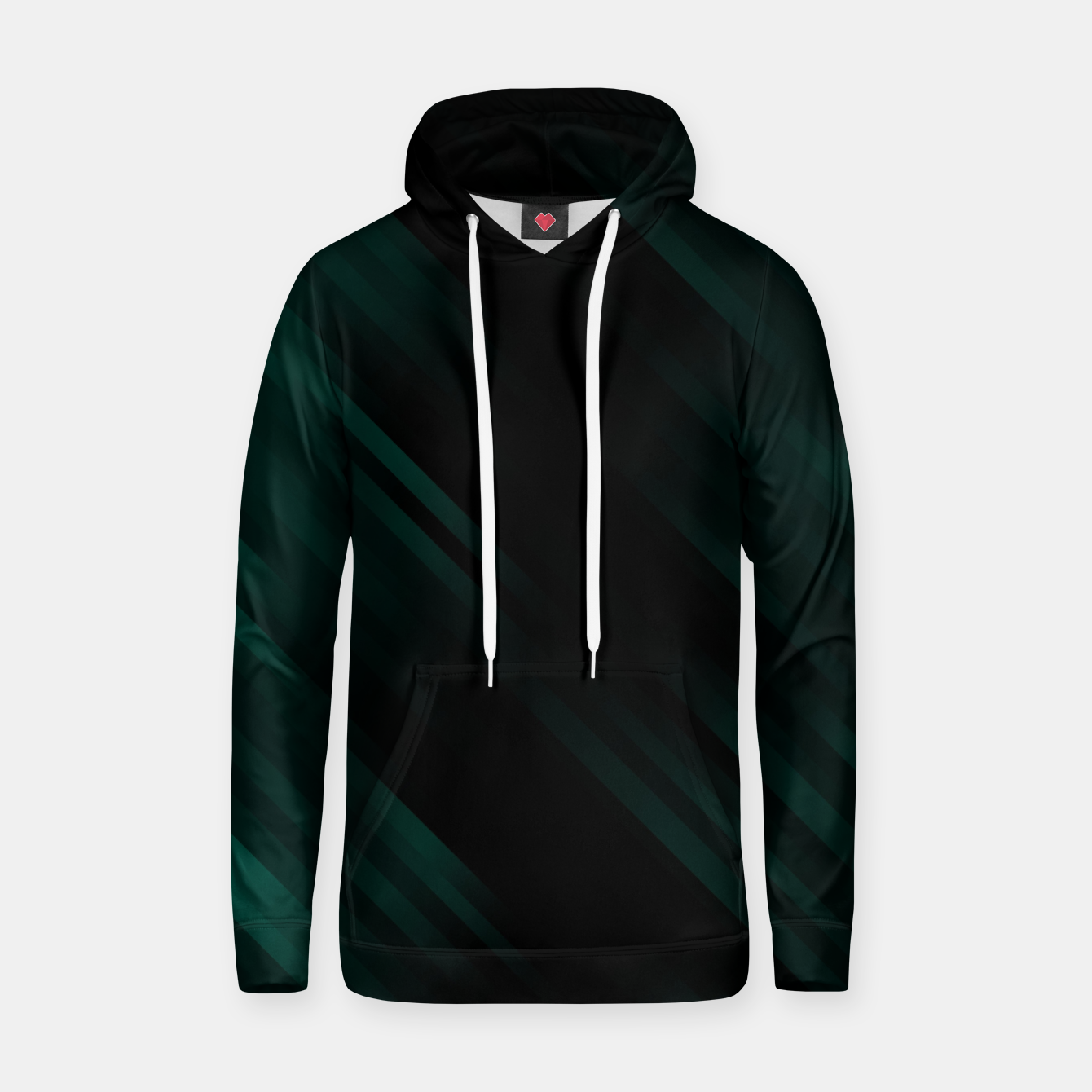Image of stripes wave pattern 7v1 pwi Hoodie - Live Heroes