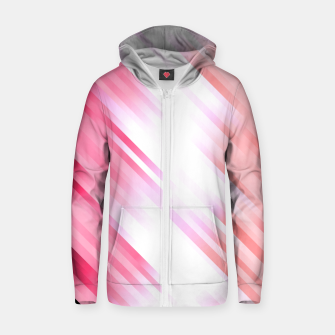 stripes wave pattern 7v1 mag Zip up hoodie thumbnail image