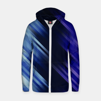stripes wave pattern 7v1 fni Zip up hoodie thumbnail image