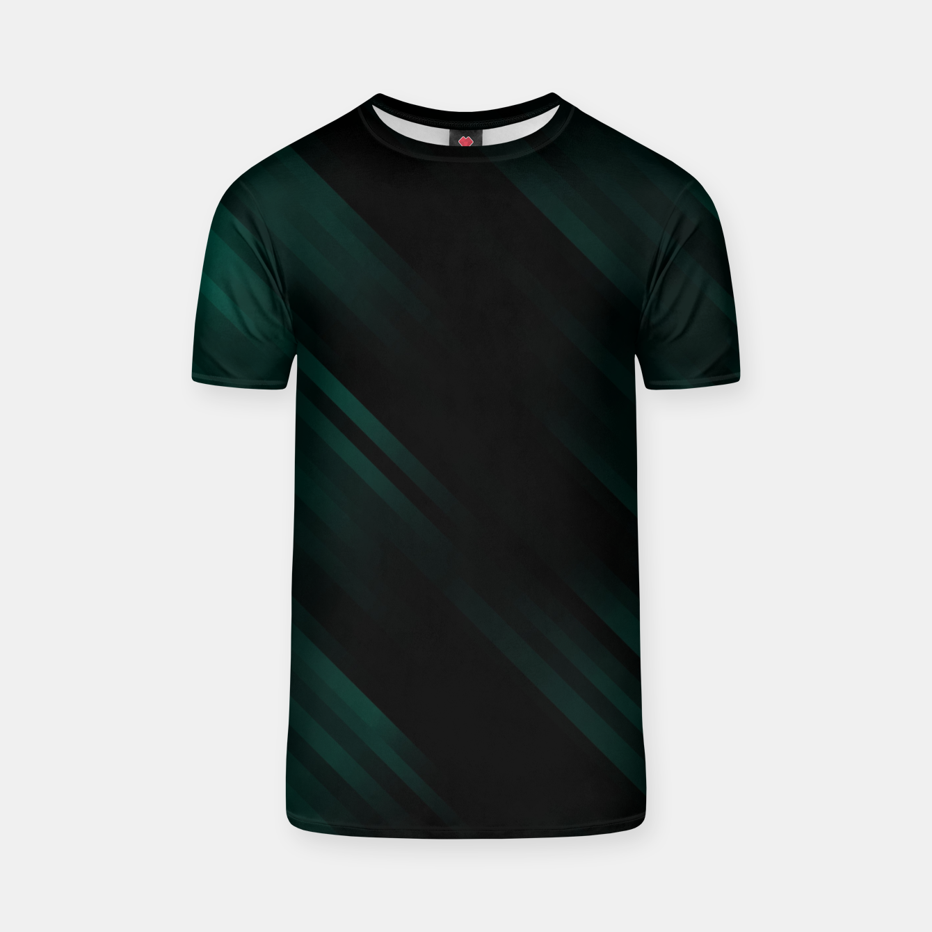 Image of stripes wave pattern 7v1 pwi T-shirt - Live Heroes