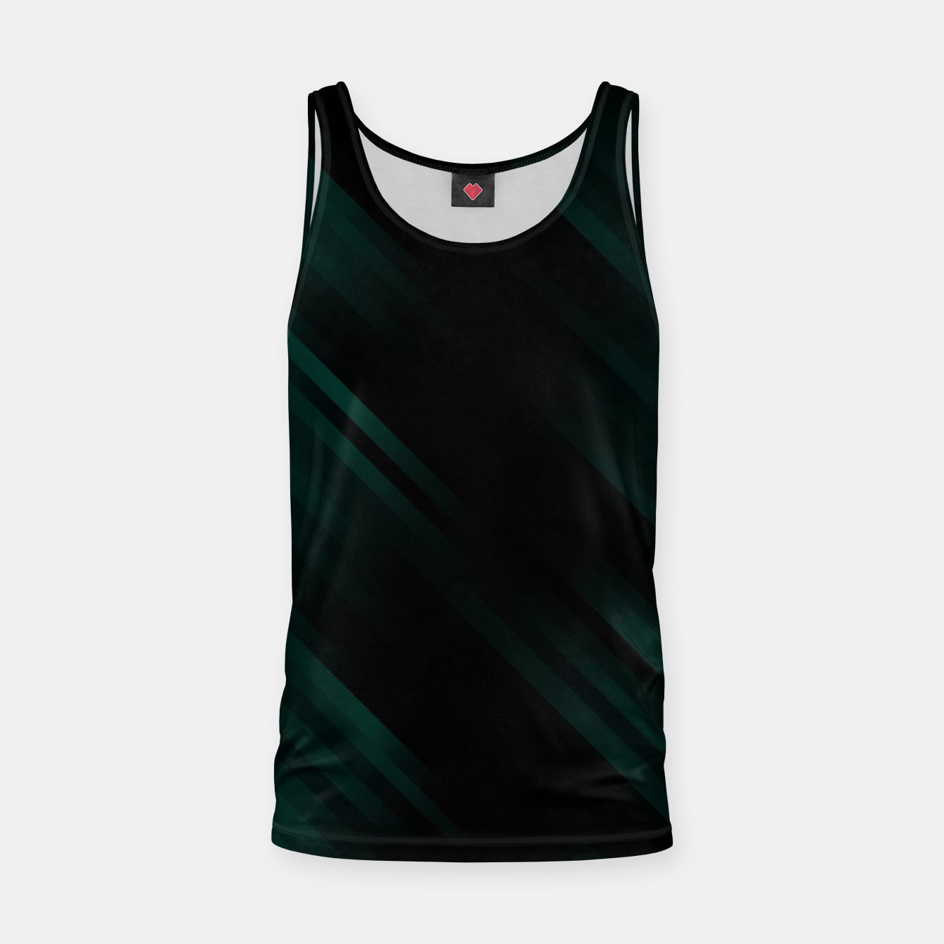 Image of stripes wave pattern 7v1 pwi Tank Top - Live Heroes