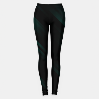 stripes wave pattern 7v1 pwi Leggings thumbnail image