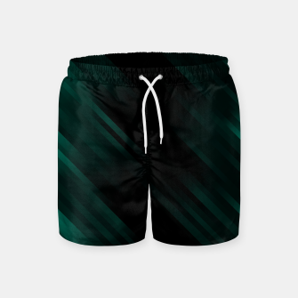 stripes wave pattern 7v1 pwi Swim Shorts thumbnail image