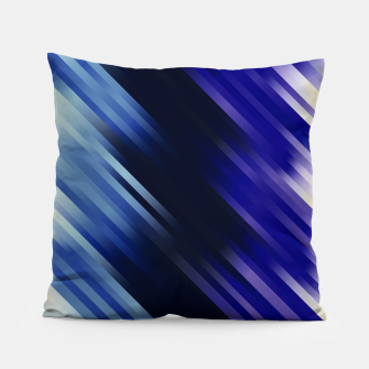 stripes wave pattern 7v1 fni Pillow thumbnail image
