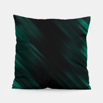 stripes wave pattern 7v1 pwi Pillow thumbnail image