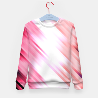 stripes wave pattern 7v1 mag Kid's sweater thumbnail image