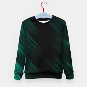 stripes wave pattern 7v1 pwi Kid's sweater thumbnail image