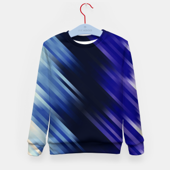 stripes wave pattern 7v1 fni Kid's sweater thumbnail image
