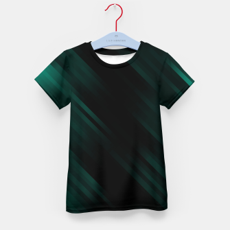 stripes wave pattern 7v1 pwi Kid's t-shirt thumbnail image