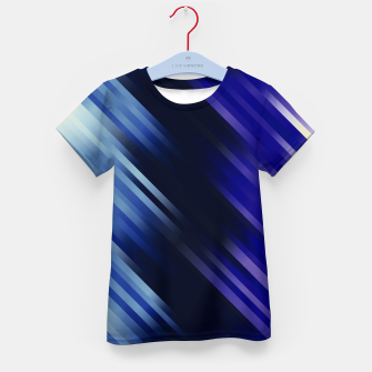 stripes wave pattern 7v1 fni Kid's t-shirt thumbnail image