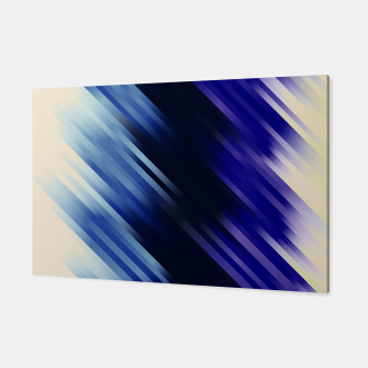 stripes wave pattern 7v1 fni Canvas thumbnail image
