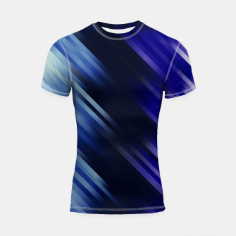 stripes wave pattern 7v1 fni Shortsleeve rashguard thumbnail image