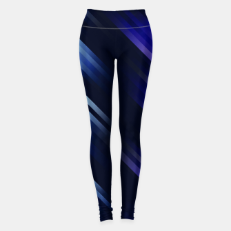 stripes wave pattern 7v1 fni Leggings thumbnail image