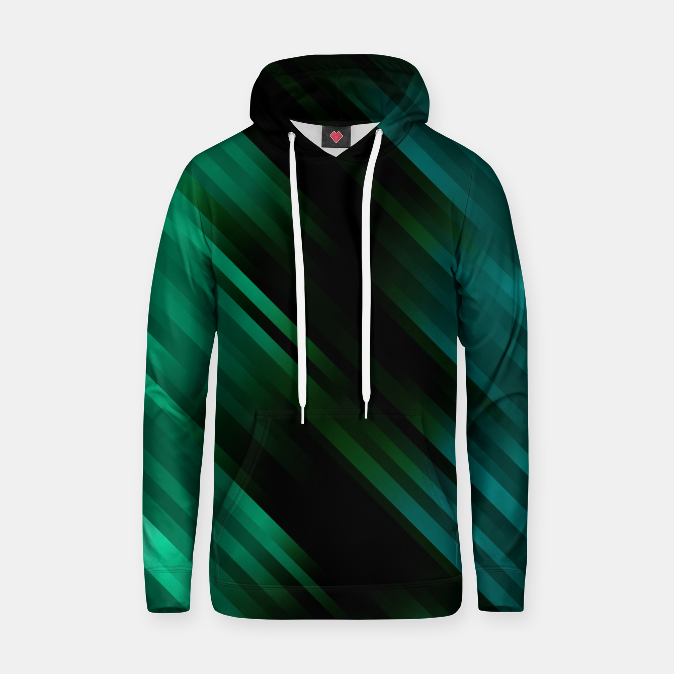 Image of stripes wave pattern 7v1 magi Hoodie - Live Heroes