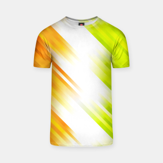 stripes wave pattern 7v1 std T-shirt thumbnail image