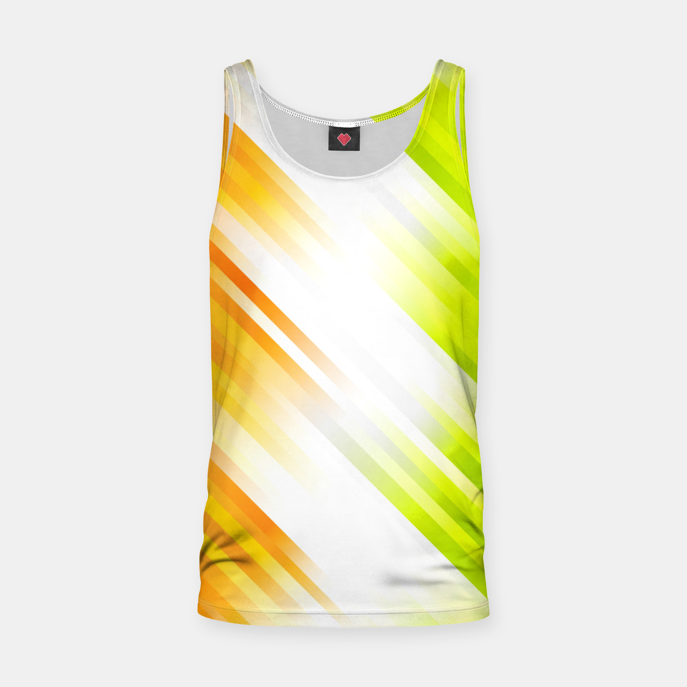 Image of stripes wave pattern 7v1 std Tank Top - Live Heroes