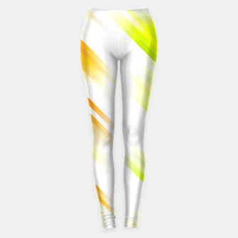stripes wave pattern 7v1 std Leggings thumbnail image
