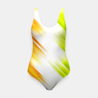 stripes wave pattern 7v1 std Swimsuit thumbnail image