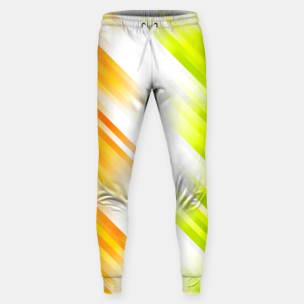 stripes wave pattern 7v1 std Sweatpants thumbnail image