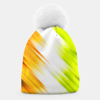 stripes wave pattern 7v1 std Beanie thumbnail image