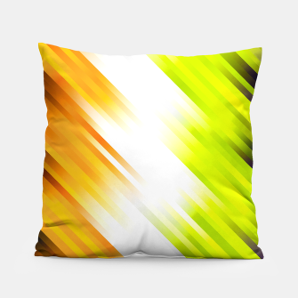 stripes wave pattern 7v1 std Pillow thumbnail image